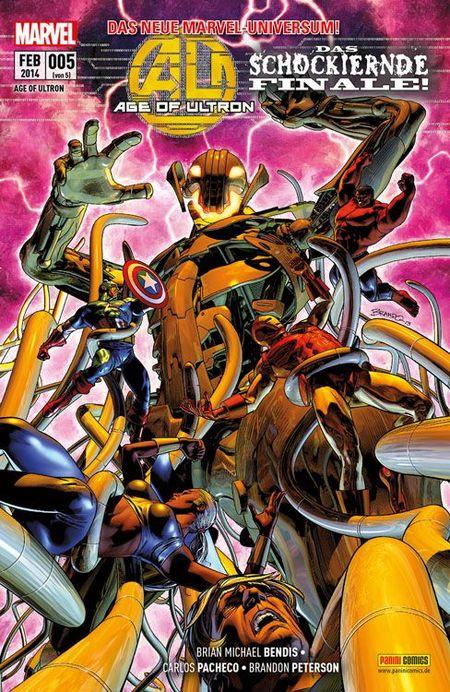 Age of Ultron 5 - Das Cover