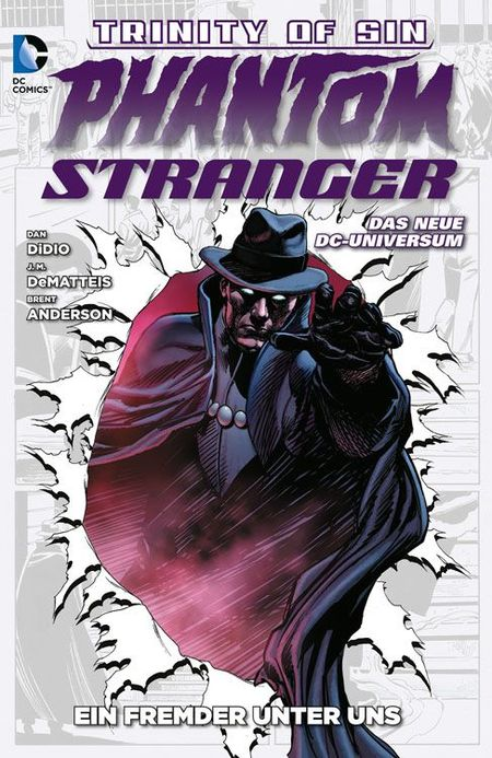 Phantom Stranger 1 - Das Cover