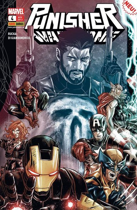Punisher 4 - Das Cover
