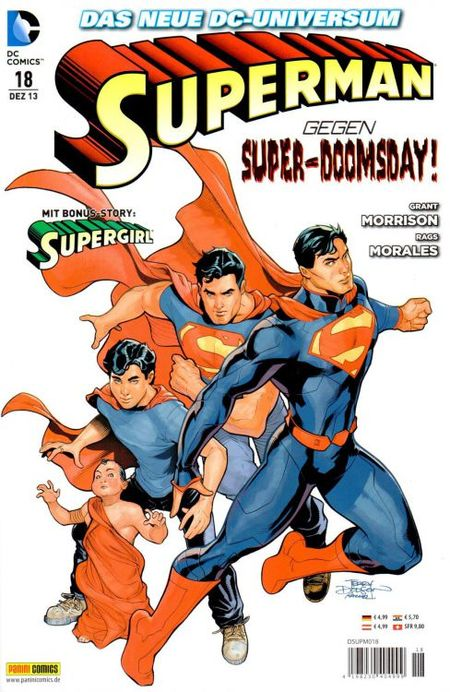 Superman 18 - Das Cover