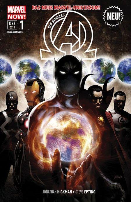 New Avengers 1 - Das Cover