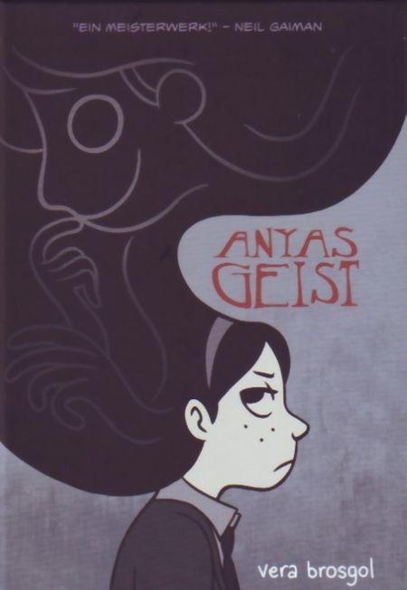 Anyas Geist - Das Cover