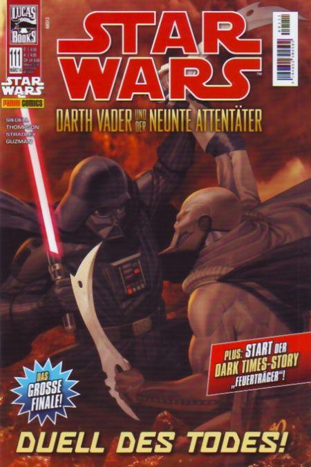 Star Wars 111: Darth Vader und der neunte Attentäter III - Das Cover