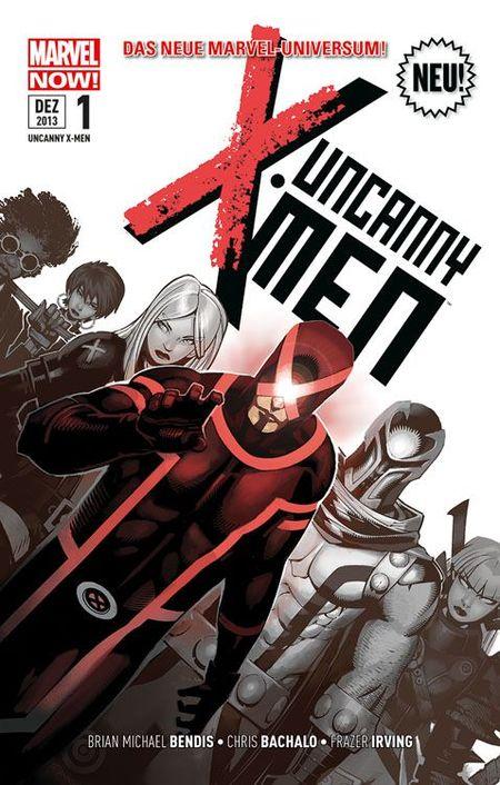 Uncanny X-Men 1: Die neue Revolution - Das Cover