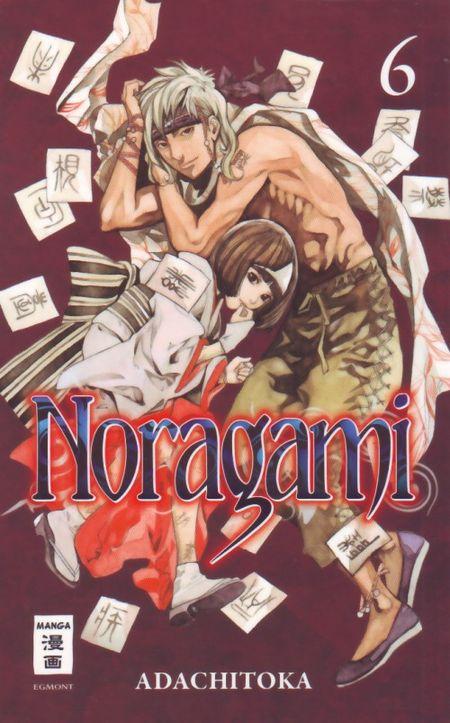 Noragami 6 - Das Cover