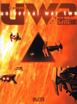 Universal War Two 1 - Die Zeit der Wüste - Das Cover
