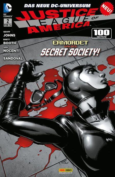 Justice League of America 2 - Das Cover