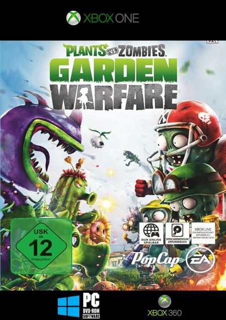 Plants vs. Zombies: Garden Warfare - Der Packshot