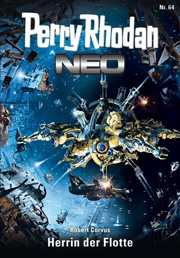 Perry Rhodan Neo 64: Herrin der Flotte - Das Cover