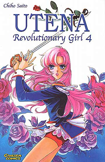 Utena- Revolutionary Girl 4 - Das Cover