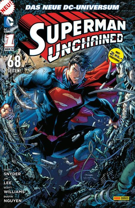 Superman: Unchained 1 - Das Cover