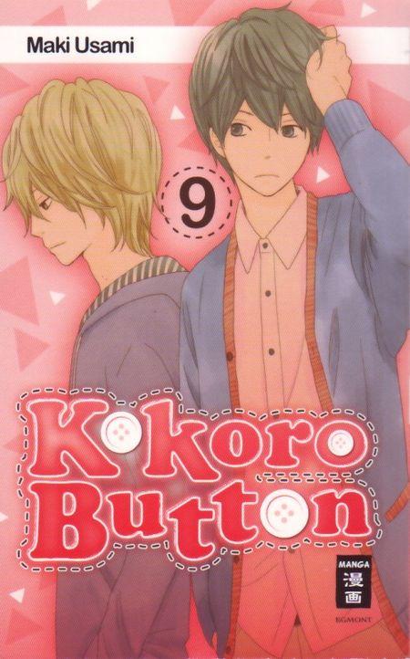 Kokoro Button 9 - Das Cover