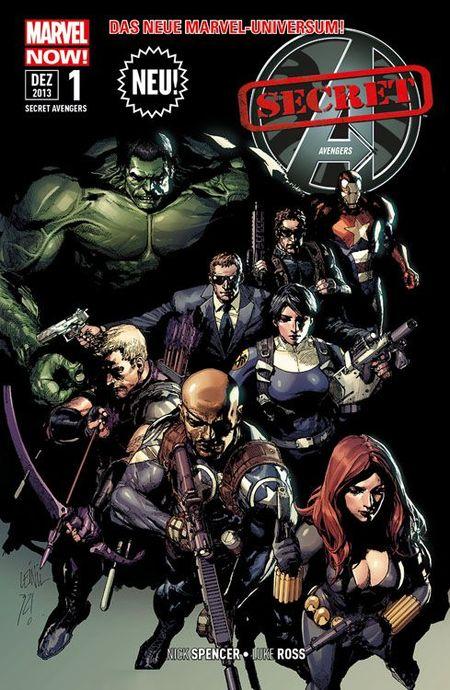 Secret Avengers 1 - Das Cover