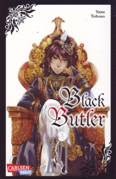 Black Butler 16 - Das Cover
