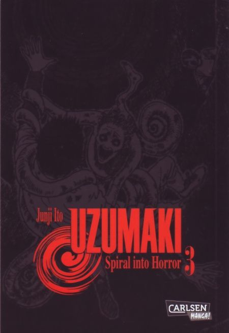 Uzumaki - Spiral into Horror 3 - Das Cover