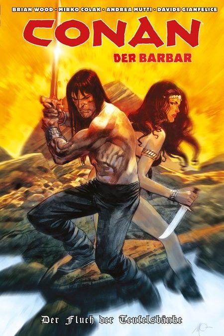 Conan der Barbar 3: Der Fluch der Teufelsbänke - Das Cover