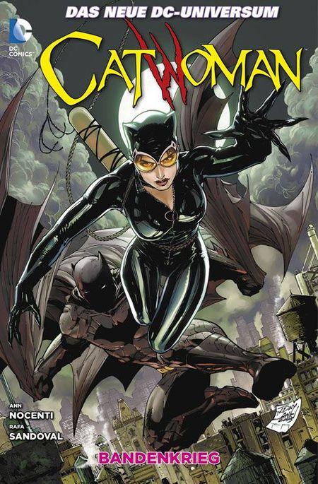Catwoman 4: Bandenkrieg - Das Cover
