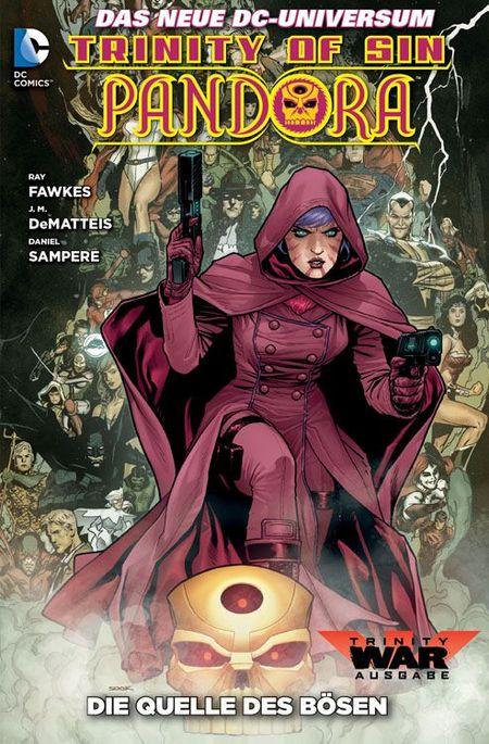 Pandora 1: Die Quelle des Bösen - Das Cover