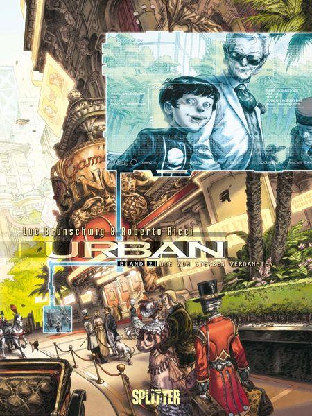 Urban 2: Die zum Sterben verdammten - Das Cover