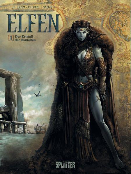 Elfen 1: Der Kristall der Blauelfen - Das Cover