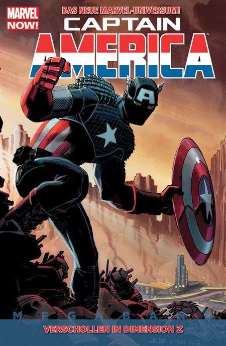 Captain America Megaband 1 - Das Cover