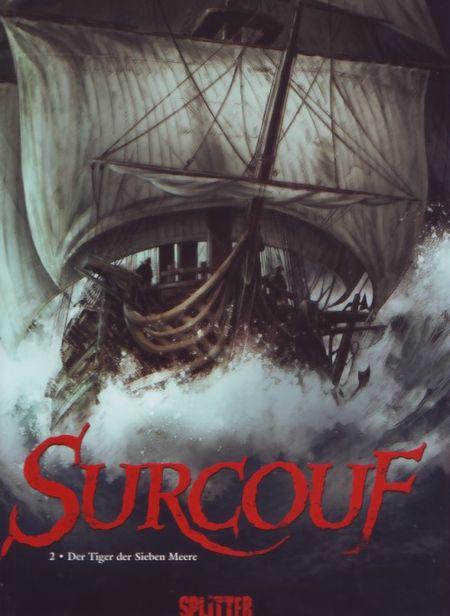 Surcouf 2: Der Tiger der sieben Meere - Das Cover