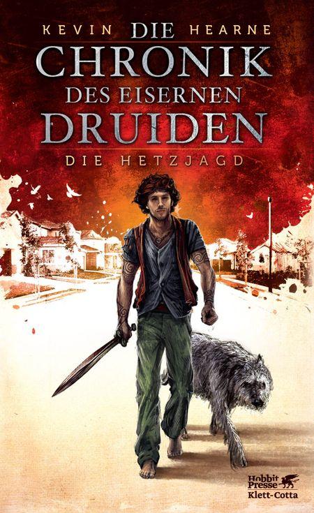 Die Chronik des Eisernen Druiden 1: Die Hetzjagd - Das Cover