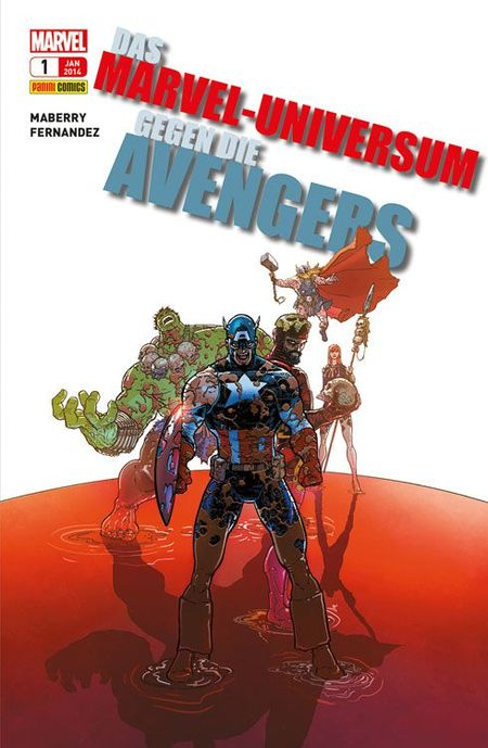 Das Marvel-Universum gegen die Avengers - Das Cover