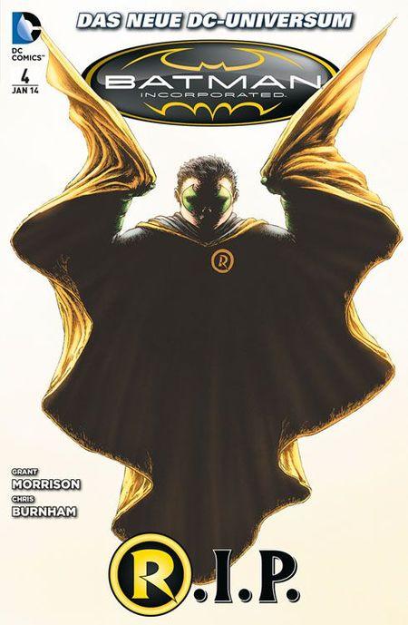Batman Incorporated 4 - Das Cover