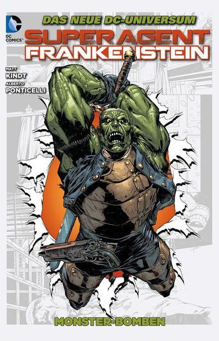 Superagent Frankenstein 2  - Das Cover