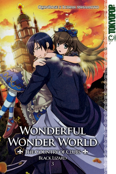 Wonderful Wonder World-The Country of Clubs-Black: Lizard 3 - Das Cover