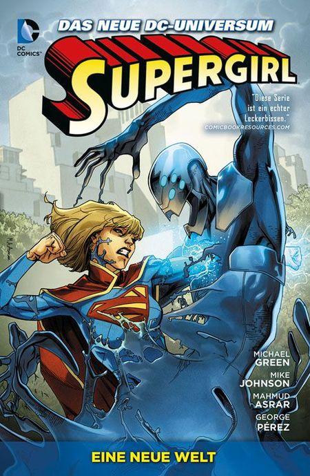 Supergirl 2: Eine neue Welt - Das Cover