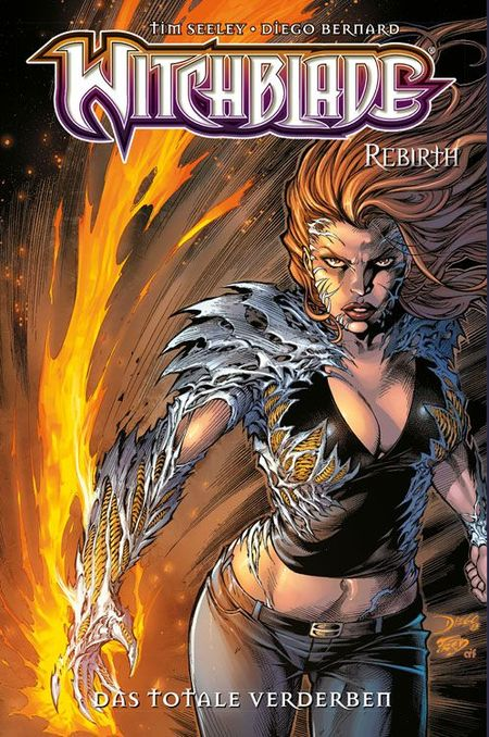 Witchblade Rebirth 3: Das totale Verderben - Das Cover