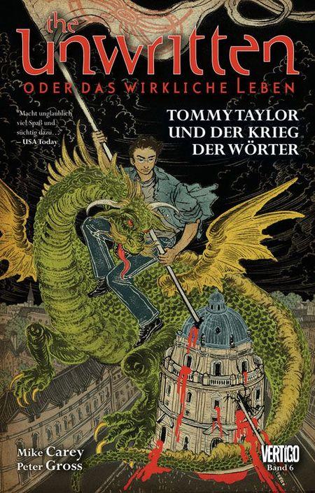 Unwritten 6: Tommy Taylor und der Krieg der Wörter  - Das Cover