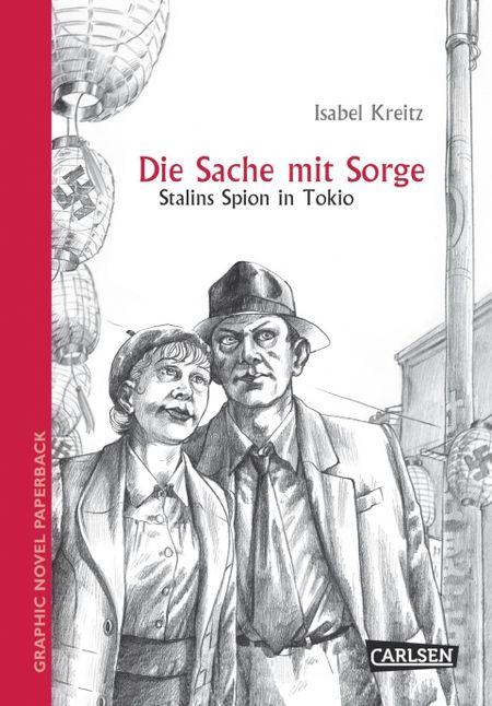 Graphic Novel paperback: Die Sache mit Sorge - Das Cover