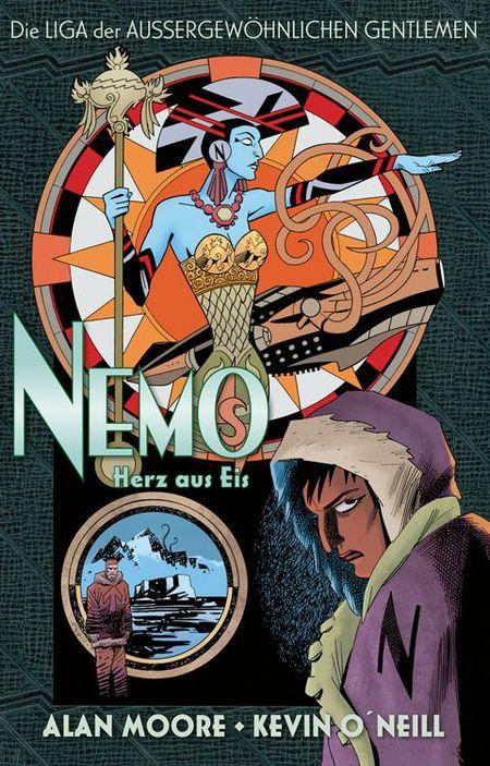 Die Liga der Außergewöhnlichen Gentlemen: Nemo – Herz aus Eis - Das Cover