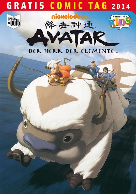 Avatar - Der Herr der Elemente - Gratis Comic Tag 2014 - Das Cover