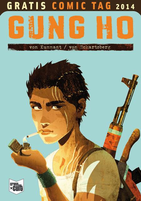 Gung Ho - Gratis Comic Tag 2014 - Das Cover