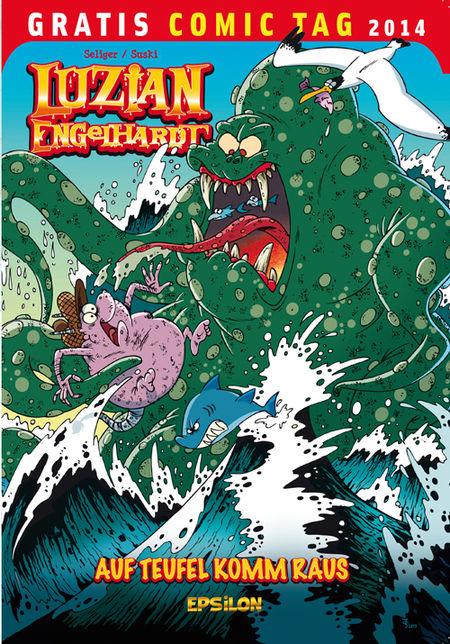 Luzian Engelhardt - Gratis Comic Tag 2014 - Das Cover
