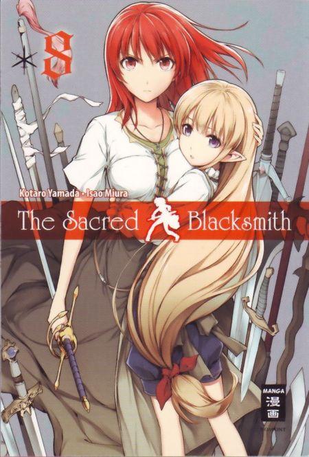 The sacred Blackmith 8 - Das Cover