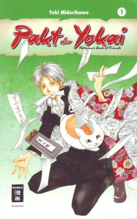 Pakt der Yokai 1 - Das Cover