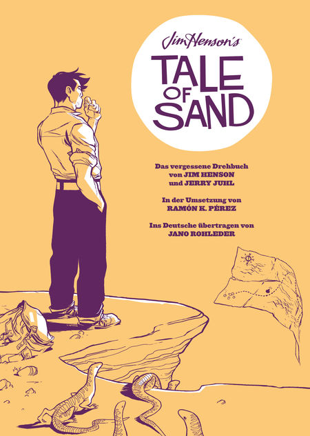 Jim Henson's Tale of Sand - Das Cover