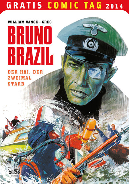 Bruno Brazil - Gratis Comic Tag 2014 - Das Cover