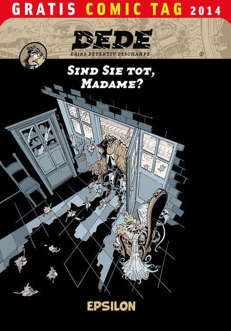 Dédé - Gratis Comic Tag 2014 - Das Cover