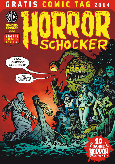 Horrorschocker - Gratis Comic Tag 2014 - Das Cover