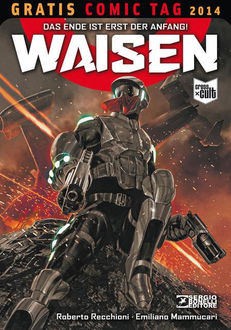 Waisen - Gratis Comic Tag 2014 - Das Cover