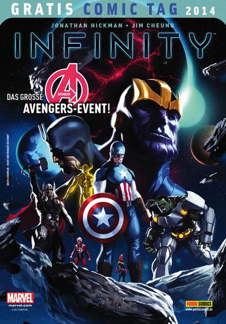 Infinity - Gratis Comic Tag 2014 - Das Cover