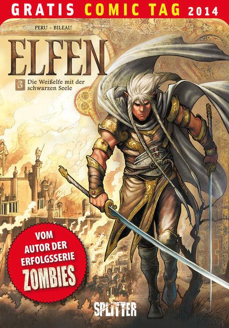Die Elfen 3 - Gratis Comic Tag 2014 - Das Cover