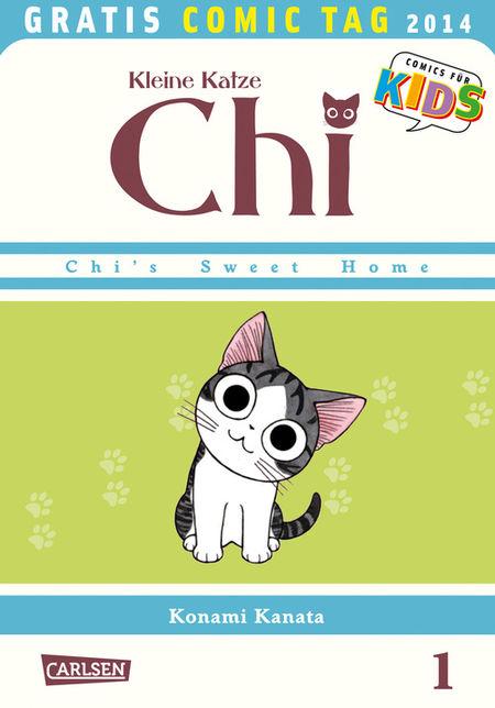 Kleine Katze Chi - Gratis Comic Tag 2014 - Das Cover