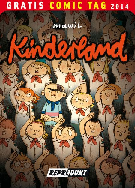 Kinderland - Gratis Comic Tag 2014 - Das Cover